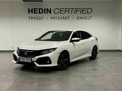 begagnad Honda Civic 1,0 129hk Elegance *V-hjul*