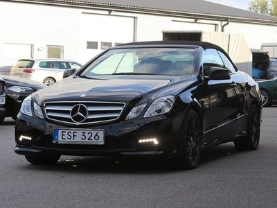 begagnad Mercedes E250 Cabriolet BE Cab AMG BlueEFFICIENCY 5G-Tronic Sport