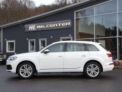 begagnad Audi Q7 3.0TDi 218Hk Q S-Line 7-Sits Sv-Såld