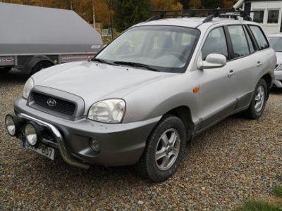 begagnad Hyundai Santa Fe 2,4 Gls 4wd -01
