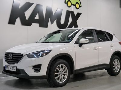 begagnad Mazda CX-5 2,2 Optimum Automat Skinn Navigation 175hk