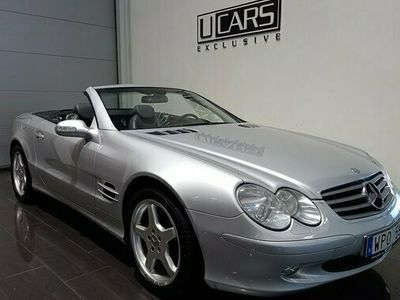 "begagnad Mercedes 500 SL Benz18""Tums AMG Fälgar 2003, Cab Pris 189 900 kr"