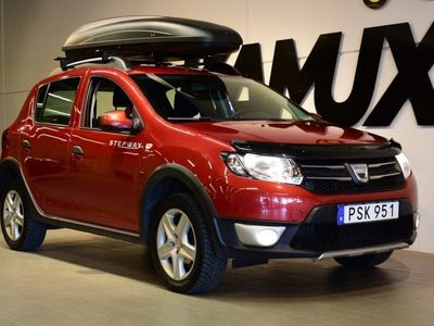 begagnad Dacia Sandero Stepway 0.9 TCe Easy-R 90hk Aut | Drag | Navi