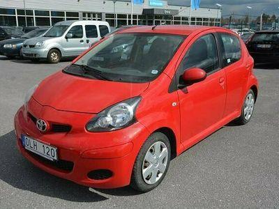 begagnad Toyota Aygo 1.0 VVT-i 5dr 2010, Halvkombi Pris 10 000 kr