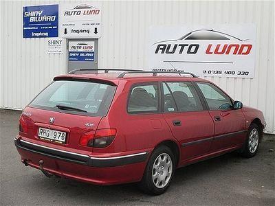 begagnad Peugeot 406 2.0Kombi AC Drag Metallic NYBES