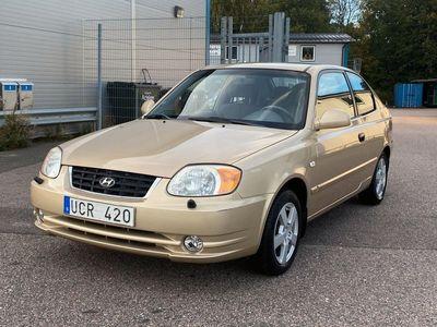 begagnad Hyundai Accent 3-dörrar 1.6 105hk
