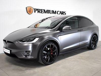begagnad Tesla Model X P100D Ludicrous 6-sits, svensks -18