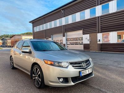 begagnad Honda Accord Tourer 2.2 i-DTEC Automat 150hk