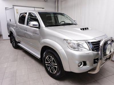 begagnad Toyota HiLux 3,0 D-4D Aut 171Hk DoubleCab (Värmare+Drag)
