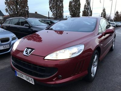begagnad Peugeot 407 Coupe 2,2