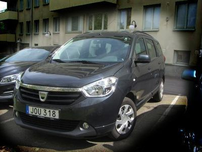 begagnad Dacia Lodgy 1.5 dCi 110 Lauréate + extra 2014