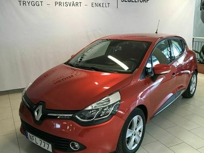 begagnad Renault Clio IV 0,9 TCe 90hk 5dr Nav Backkamera S+V-hjul