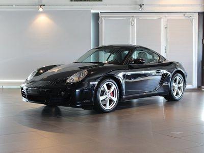 begagnad Porsche Cayman S 295hk Svensksåld