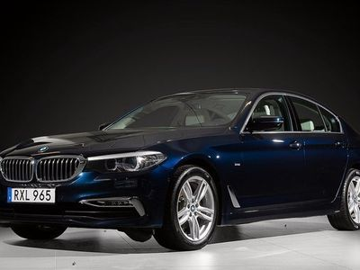 begagnad BMW 520 d xDrive Sedan Steptronic Luxury Line 2018, Sedan 329 000 kr