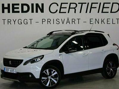 begagnad Peugeot 2008 1.2 Aut GT-Line Panorama PDC Carplay 1-Ägare 2018, SUV Pris 159 900 kr