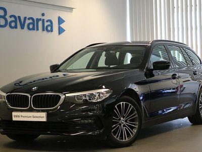 begagnad BMW 520 d xDrive Touring Sport line Drag Sportstolar Nypris 553 195: