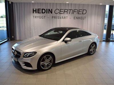 begagnad Mercedes E200 Coupé // AMG // COMAND ONLINE // HEAD-UP