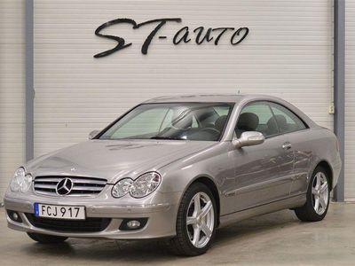 begagnad Mercedes CLK320 CDI Coupé Svensk Ränta 1,99%