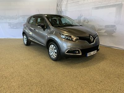 begagnad Renault Captur Energy TCe 90 Expression 5-d II, Garanti 24 månader, Parkeringsradar bak