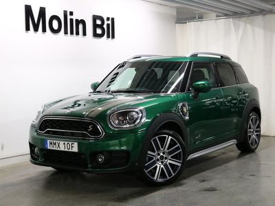 begagnad Mini Cooper S Countryman E ALL4 Experience / Salt / Navigation
