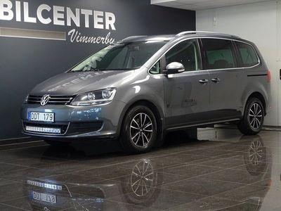 begagnad VW Sharan 2.0 BlueTDI DSG 7-sits 140