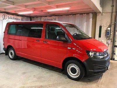 begagnad VW Transporter kombi 9-sits 4M TDI 15