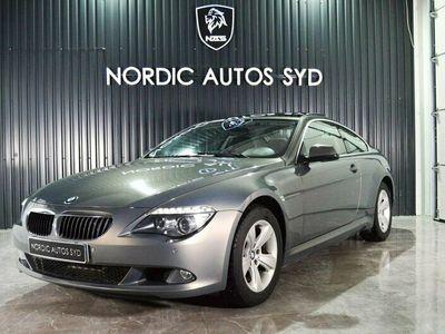begagnad BMW 630 i Coupé Automat 272hk Svensksåld Taklucka