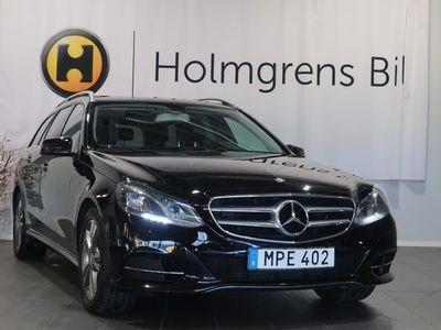 begagnad Mercedes E220 BLUETEC 4-M / Drag / nav