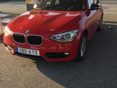begagnad BMW 120 d Sport line