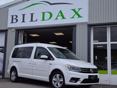 begagnad VW Caddy Maxi Life TDI DSG SKINN