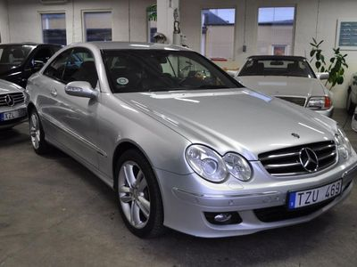 begagnad Mercedes CLK320 CDI Coupé 7G-Tronic Nybes.