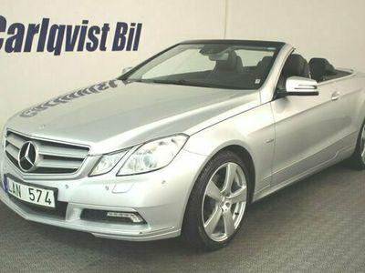 begagnad Mercedes E350 Cabriolet CGI BE MERCEDES 292HK Avantgarde Navi Aut