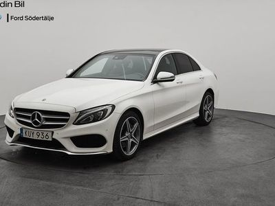 begagnad Mercedes C220 Cd 4MATIC -18