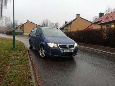 begagnad VW Touran 2,0 EcoFuel lågskatt