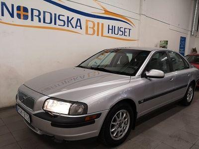 begagnad Volvo S80 2.4 170hk AC Besiktigad