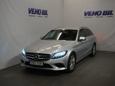begagnad Mercedes C200 9G-Tronic Avantgarde Nav Backkamera