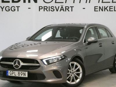 begagnad Mercedes A180 180 /Helskinn/Backkamera/Manuell