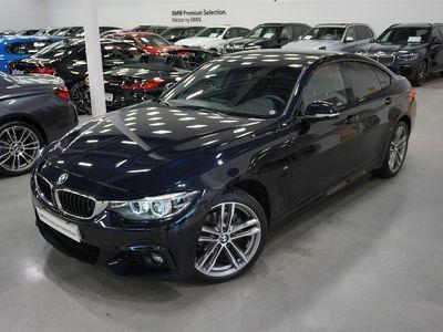 begagnad BMW 420 D xDrive M-Sport Navi Drag Hifi Backkamera