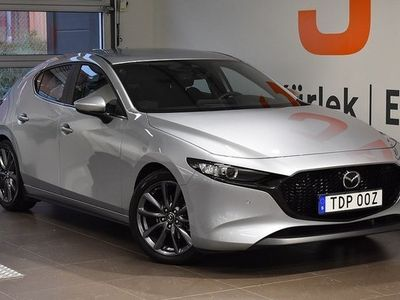 begagnad Mazda 3 3Sky 2.0 Mhyrbrid Aut 2019, Halvkombi 229 900 kr
