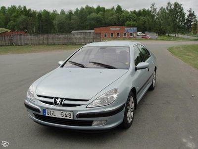 begagnad Peugeot 607 med bra utrustning -03