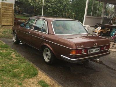 begagnad Mercedes E280 W123