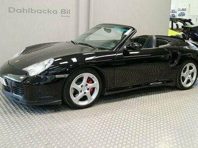 begagnad Porsche 911 Turbo Cabriolet 2004, Personbil Pris 575 000 kr