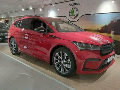 begagnad Skoda Enyaq iV 80X 82 kWh AWD SportLine 2021