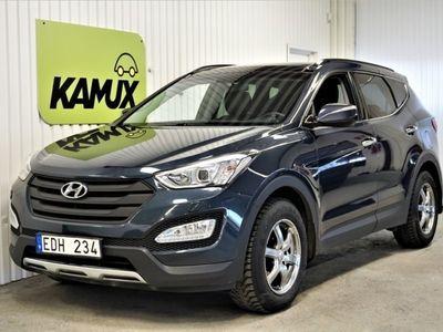 brugt Hyundai Santa Fe 2.2 CRDi 4WD Premium (200hk)
