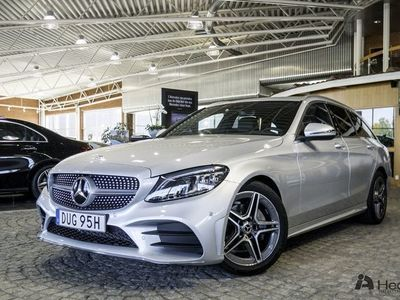 begagnad Mercedes C220 d // AMG Line & Premiumpkt // DEMOBIL