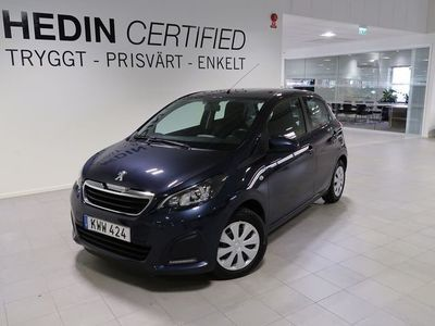 begagnad Peugeot 108 1.0VTi Active 2014, Halvkombi 69 900 kr
