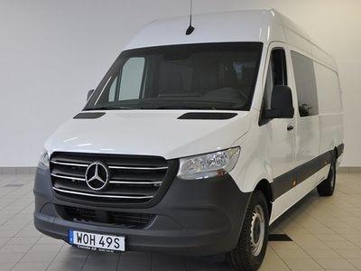begagnad Mercedes Sprinter Benz 319 Cdi Mixto 6-sits 3,5 t drag 2020, Transportbil 571 250 kr