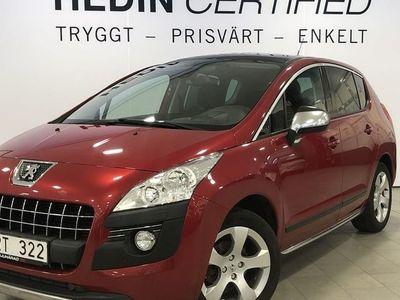 begagnad Peugeot 3008 1.6l 111hk automat diesel panorama inkl. vinterhjul