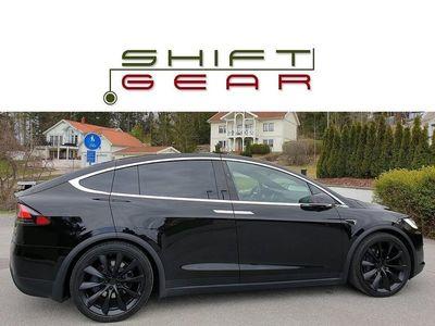 begagnad Tesla Model X 100D 6sits FULLUTR+FSD LEASEBAR