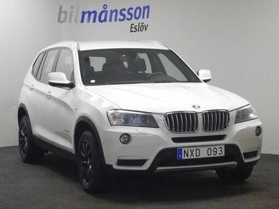 begagnad BMW X3 (Värmare, Navi)